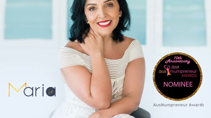 Thought Leader Maria Boznovska: 2019 AusMumpreneur Awards Nominee